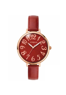 VOGUE Gigi Bordeux Leather Strap
