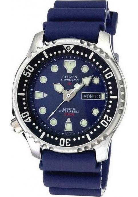 Promaster Diver Automatic Blue Rubber Strap