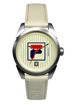 FILA Fintage Beige Leather Strap 38-027-002