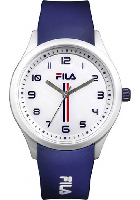 FILA Blue Rubber Strap 38-129-102