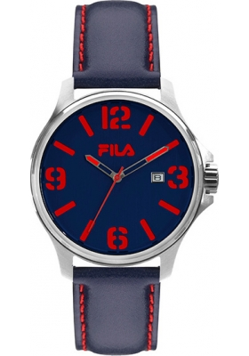 FILA Blue Leather Strap 38-155-002
