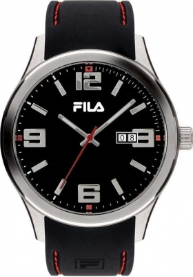 FILA Black Rubber Strap 38-156-001