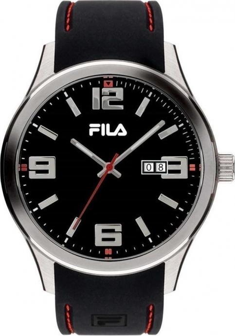 FILA Black Rubber Strap 38-156-001