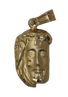 Κρεμαστό Φυλαχτό Χριστός από Χρυσό Κ9