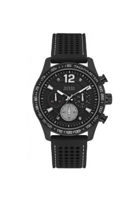Guess Black Rubber Chronograph W0971G1