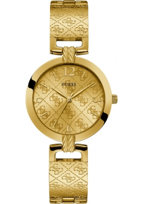 GUESS Gold Stainless Steel Bracelet W1228L2