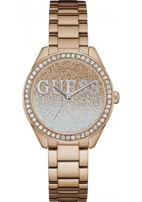 Guess Rose Gold Stainless Steel Bracelet W0987L3