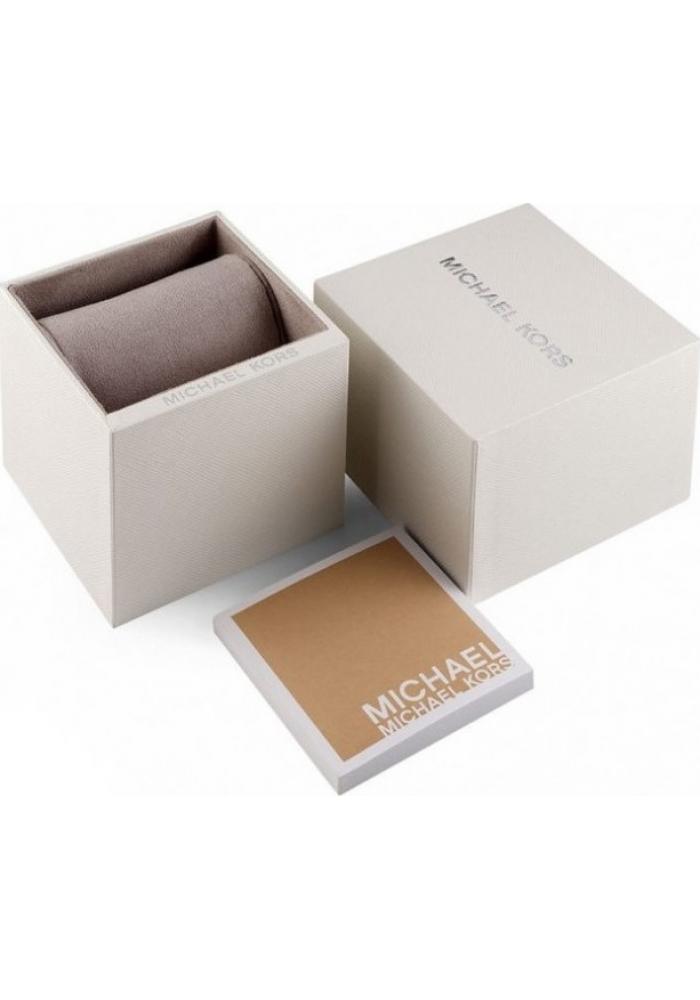 Michael Kors MK6848 Layton Crystals Rose Gold Stainless Steel Bracelet