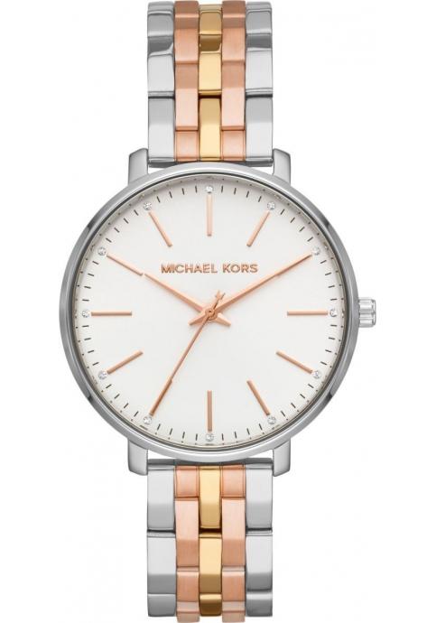 Michael Kors Pyper Three Tone Strainless Steel Bracelet MK3901