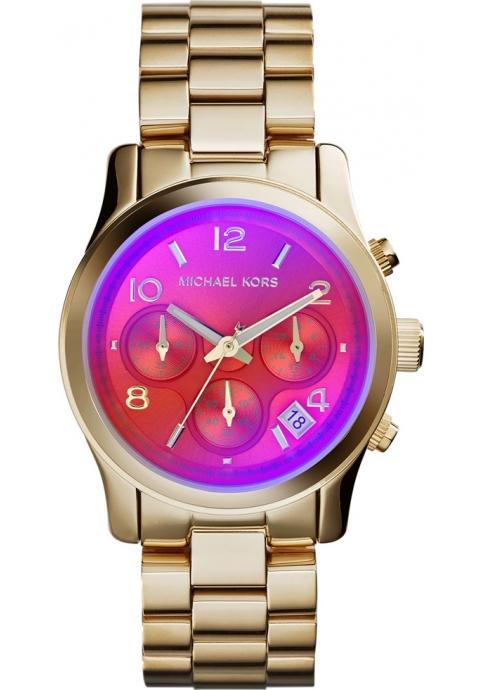 MICHAEL KORS Runway Chronograph Gold Stainlees Steel Bracelet