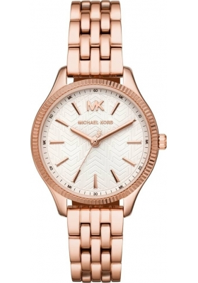 Michael KORS Lexington Rose Gold Stainless Steel Bracelet