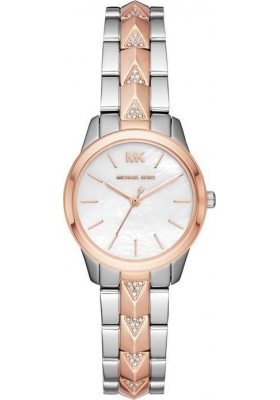 Michael Kors Runway Two Tone Stainless Steel Bracelet MK6717