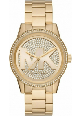 Michael Kors Ritz Gold Stainless Steel Bracelet MK6862
