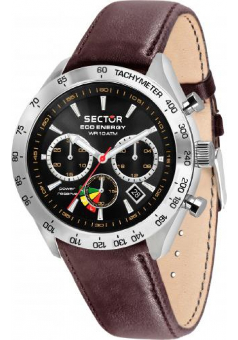 Sector Brown Leather Strap