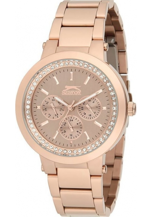 Slazenger Style & Pure - SL.9.1094.4.04 - Rose Gold - Stainless steel