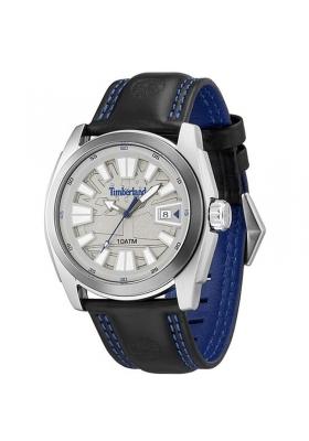TIMBERLAND DUNSTER grey dial black leather strap 13853JSTU61