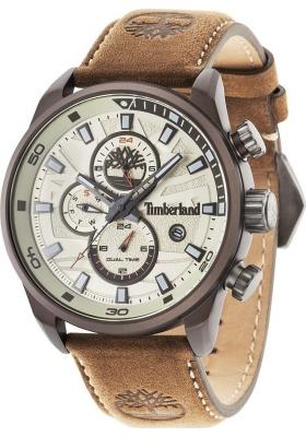 Timberland Henniker II Brown Leather Strap 14816JLBN07