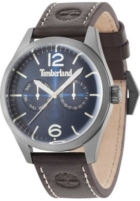 TIMBERLAND Middleton Brown Leather Strap