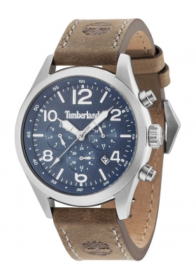 TIMBERLAND 15249JS03 Ashmont Multifunction Brown Leather Strap
