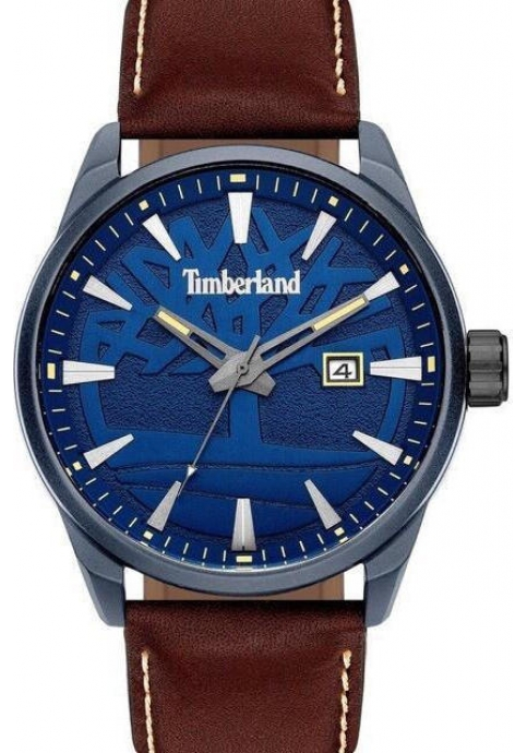 Timberland 15576JLU-03 PHILIPSON Brown Leather Strap