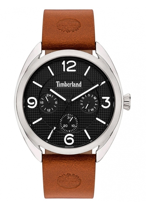 TIMBERLAND 15631JYS-02 Burnham Brown Leather Strap