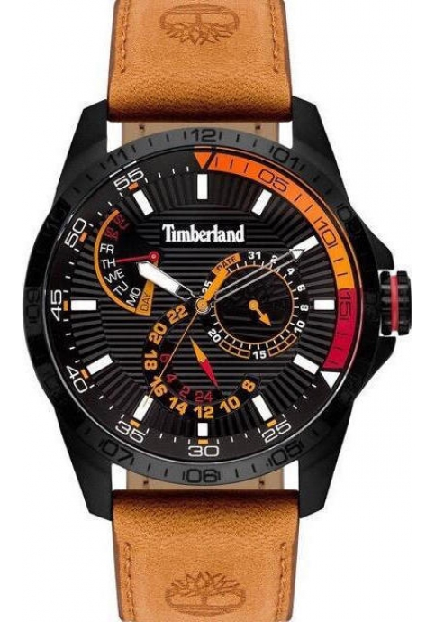 TIMBERLAND 15641JSB/02 Oakham Brown Leather Strap
