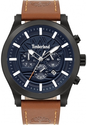 Timberland Hardwick Brown Leather Strap 15661JSB03
