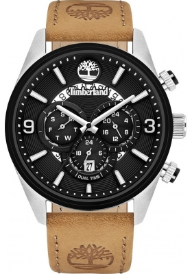 TIMBERLAND Ellswood Brown Leather Strap 16014jstb02