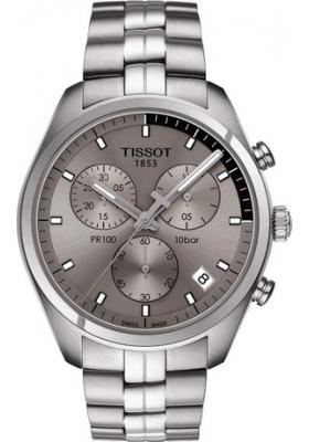 TISSOT PR100 Stainless Steel Chronograph T1014171107100