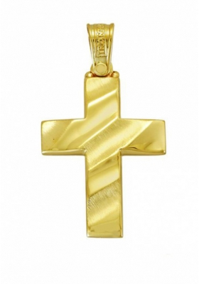 Σταυρός 14Κ Xρυσο ΤΡΙΑΝΤΟΣ
