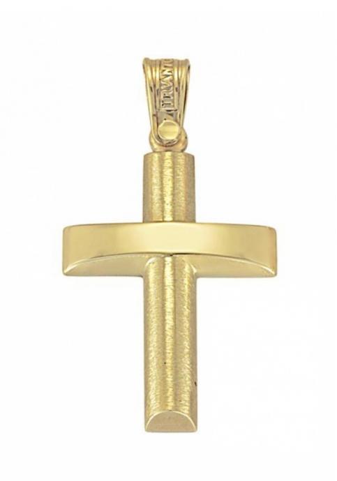 Σταυρός 14 Καράτια Xρυσο ΤΡΙΑΝΤΟΣ