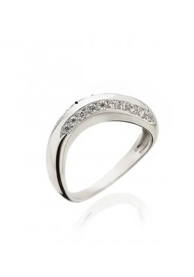 Δαχτυλίδι 14 Καράτια Λευκόχρυσο με Ζιργκόν