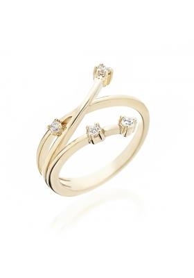 Δαχτυλίδι 14Κ Χρυσό με Ζιργκόν