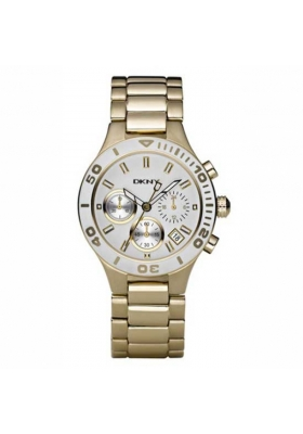DKNY Chronograph Gold Stainless Steel Bracele
