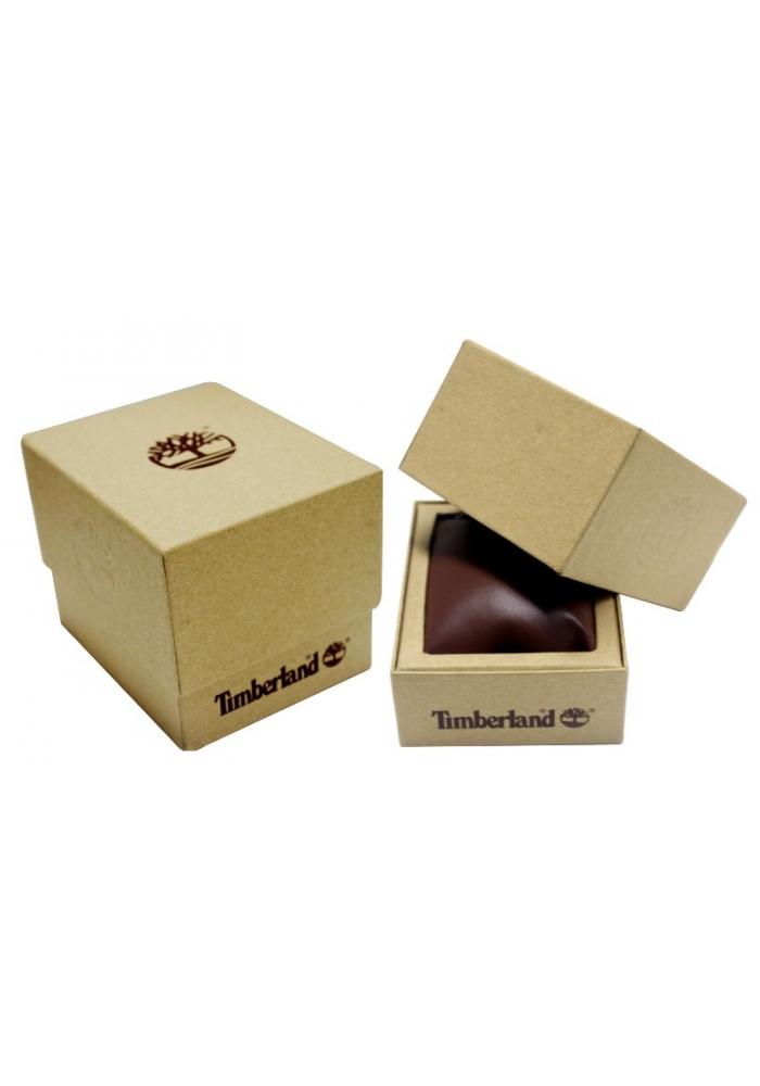TIMBERLAND Bennigton Multifunction Brown Leather Strap