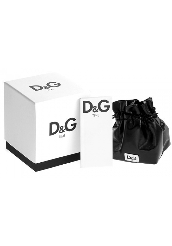 D&G Rose Gold Check Stainless Steel Ladies DW0341