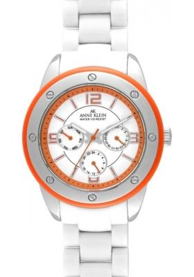 Anne Klein Multifunction White Dial Women's watch
