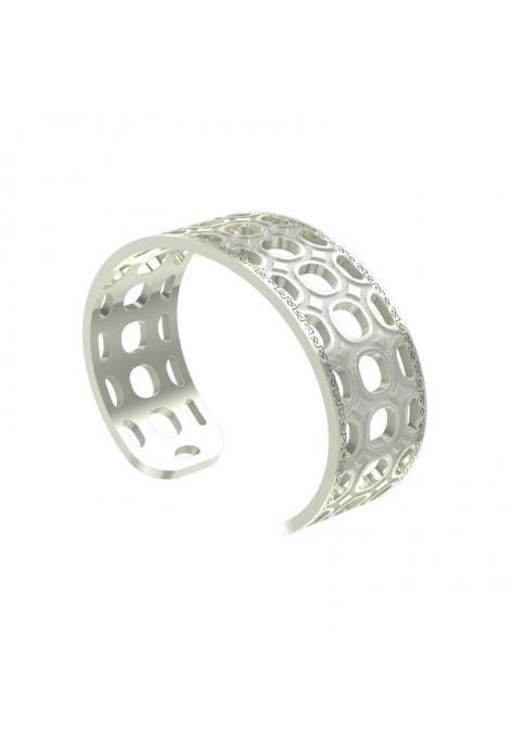 Βραχιόλι Λευκό Seventies Rebecca - Stainless Steel