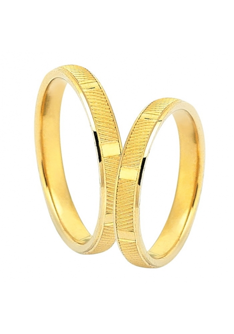 Handmade Wedding ring from 14K Gold