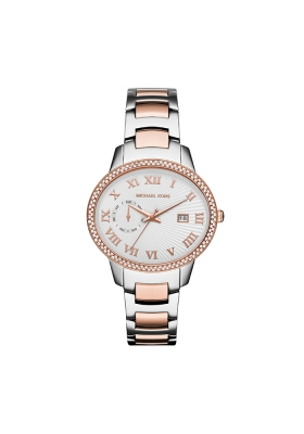 Michael Kors Whitley Crystals Two Tone Stainless Steel Bracelet