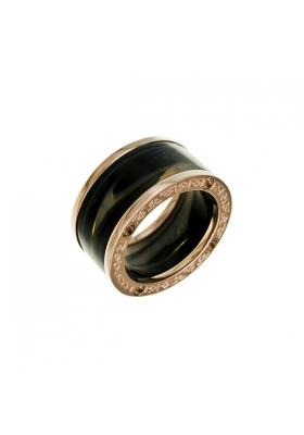 Δαχτυλίδι από ανοξείδωτο ατσάλι Devil Rose Gold