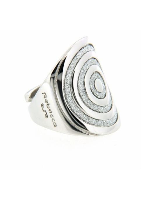 REBECCA Δαχτυλίδι από ανοξείδωτο ατσάλι Infinity Silver