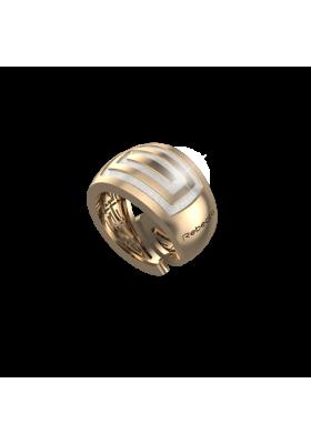 Δαχτυλίδι Κίτρινο Infinity Gold Rebecca από κράμα μετάλλων