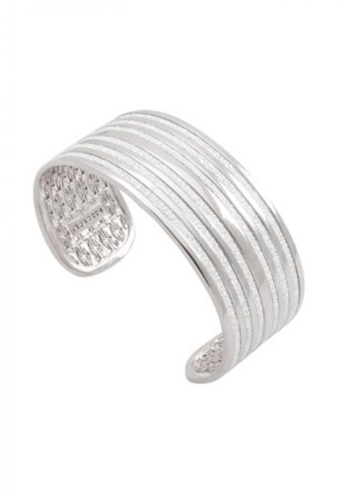 REBECCA Βραχιόλι Λευκό Infinity από ανοξείδωτο ατσάλι