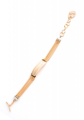 Rebecca Ladies Bracelet Gold Color - Metal Alloy