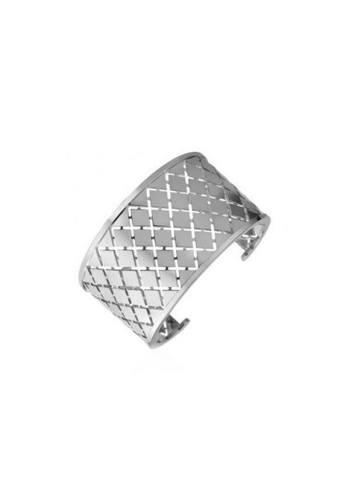 REBECCA Βραχιόλι από ανοξείδωτο ατσάλι Melrose Silver