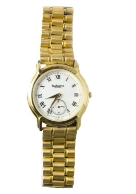 Burberry's London Gold Stainless Steel