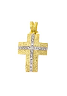 Σταυρός 14 Καράτια Xρυσο ΦΑΝΟΥΡΑΚΗΣ
