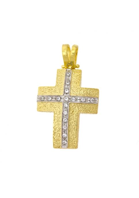 Cross 14 Carat Gold FANOURAKIS