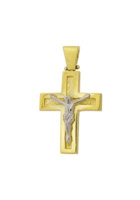 Σταυρός 14Κ Xρυσο ΦΑΝΟΥΡΑΚΗΣ